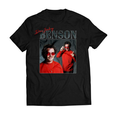 Benson - Disc Jockey Black Tee