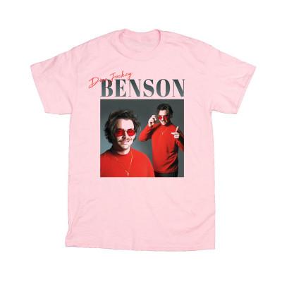 Benson - Disc Jockey Pink Tee